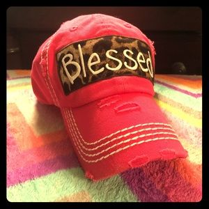 Accessories - NWT-Womens Vintage Southern BLESSED hat